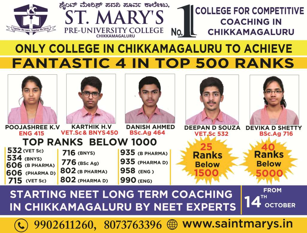 CET Results